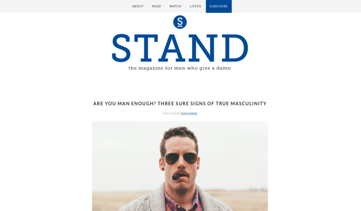 STAND Men's Magazine
